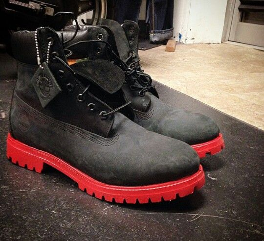 Chicago Bulls custom Tims.