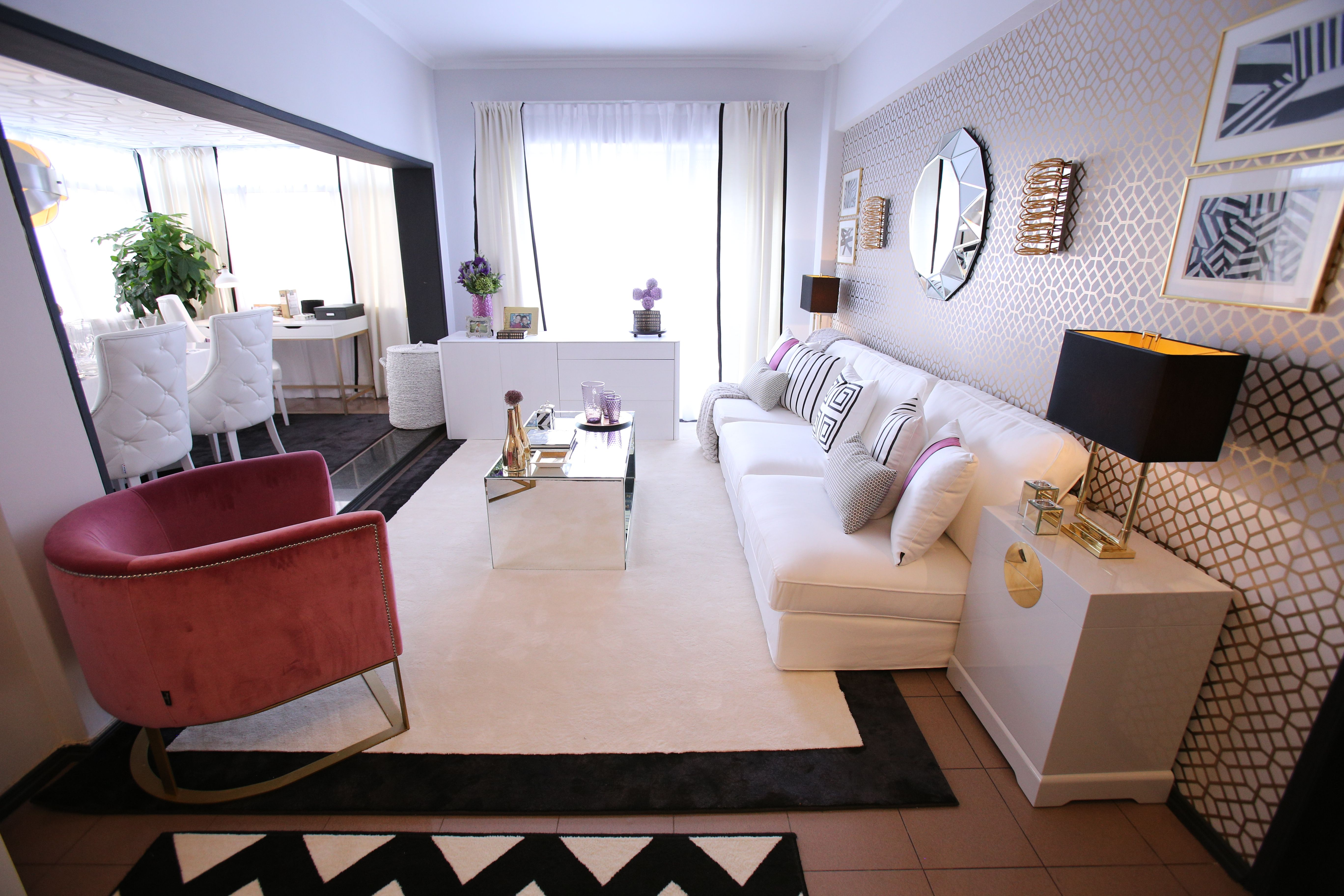 Ana Antunes | Sala De Estar | Living Room | Black White Gold Inspiration |  White Part 50