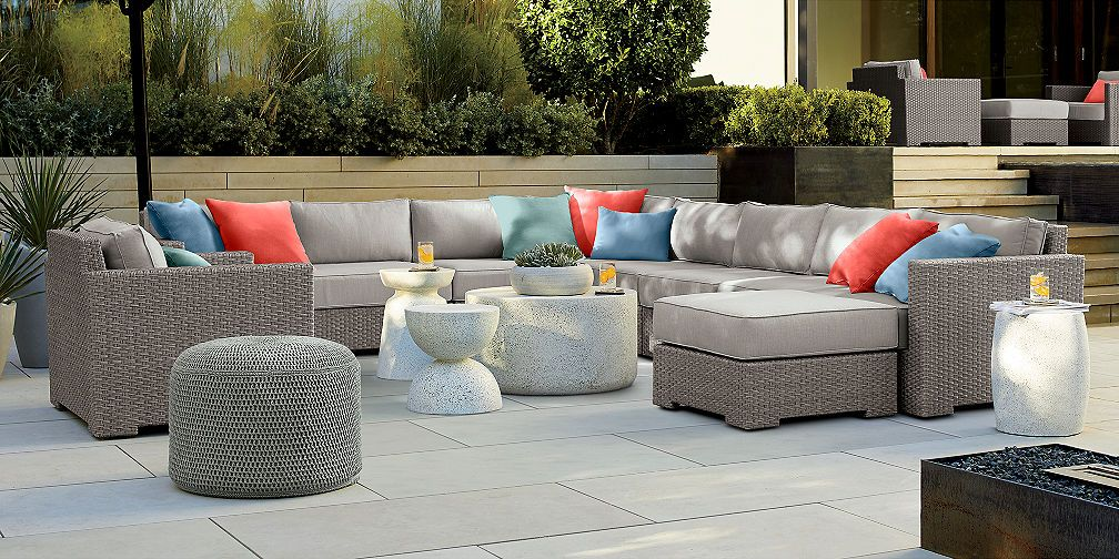 Outdoor Furniture Collections Dining And Lounge Crate And Barrel Outdoor Furniture Sets Patio Lounge Furniture Outdoor Furniture