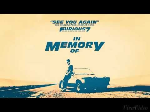 Wiz Khalifa See You Again - YouTube
