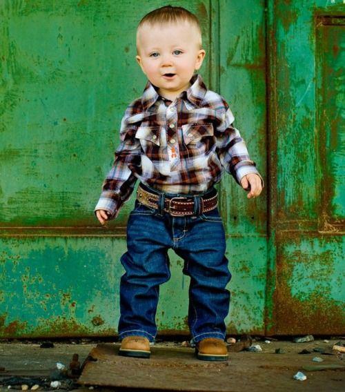 Lil Cowboy Cuteness Little Country Boys Toddler Boy