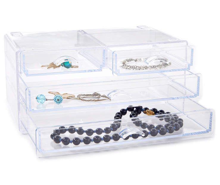 Kenney Storage Made Simple 4 Drawer Countertop Organizer Big