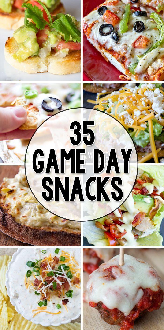 35 game day appetizers snack rezepte snacks und essen und trinken. Black Bedroom Furniture Sets. Home Design Ideas