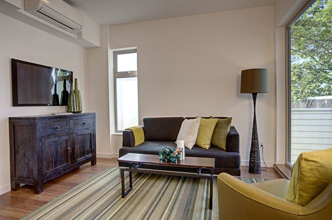 10 Ways To Hide That Air Conditioner Living Room Modern Home Living Room Room Air Conditioner