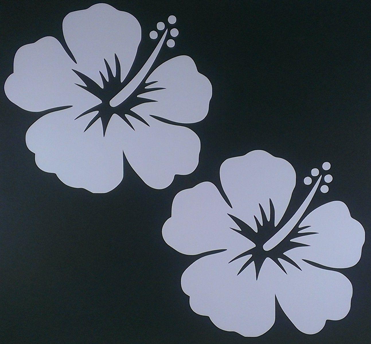 Hawaiian hibiscus flower decal hibiscus flowers hibiscus and hawaiian hawaiian hibiscus flower decal izmirmasajfo Gallery