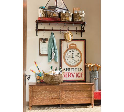 French Cafe Entryway Rack