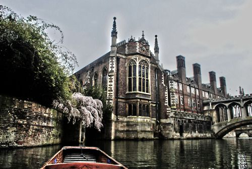 Punting by the Bridge of Sighs