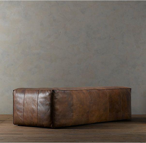 Fulham sofá de cuero