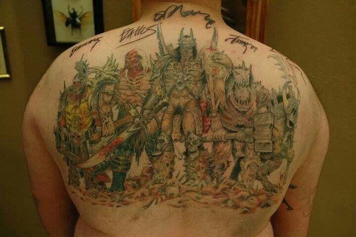 Gwar Tattoo