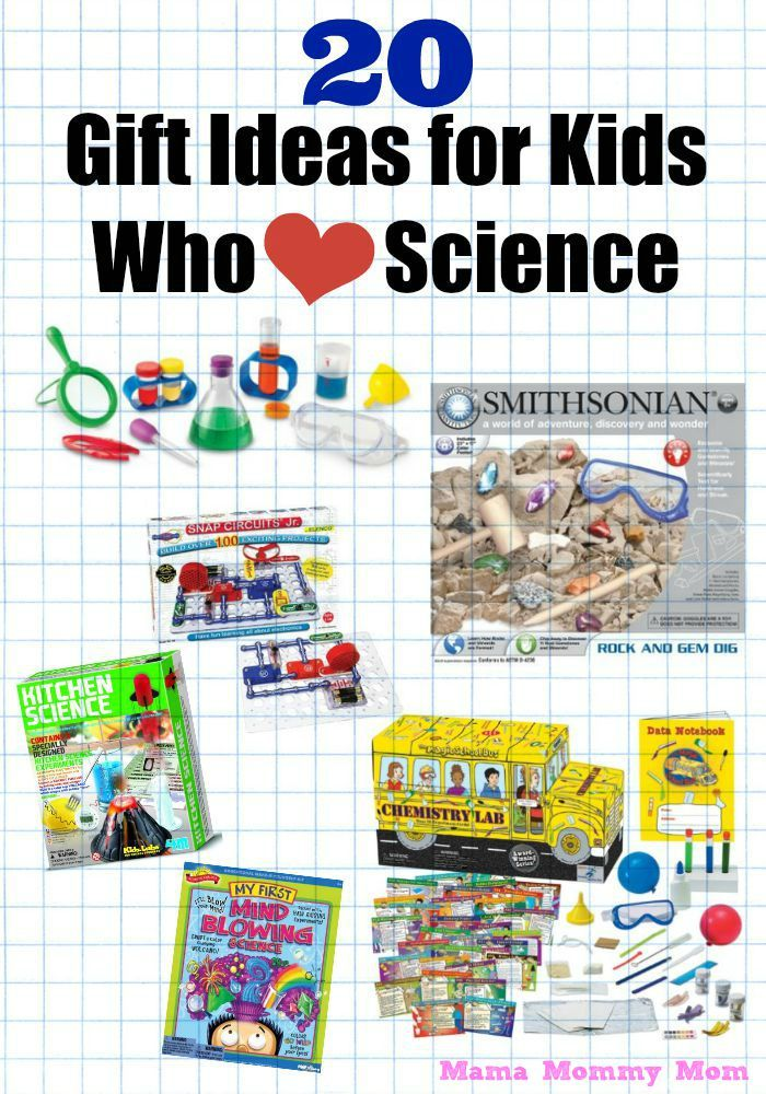 20 Gifts for Kids Who Love Science -   Gift and Child