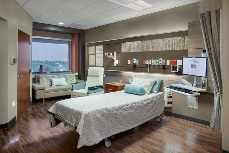 Baylor Regional Medica Lcenter Grapevine Patient Tower In Grapevine Tx Design Patient Rooms