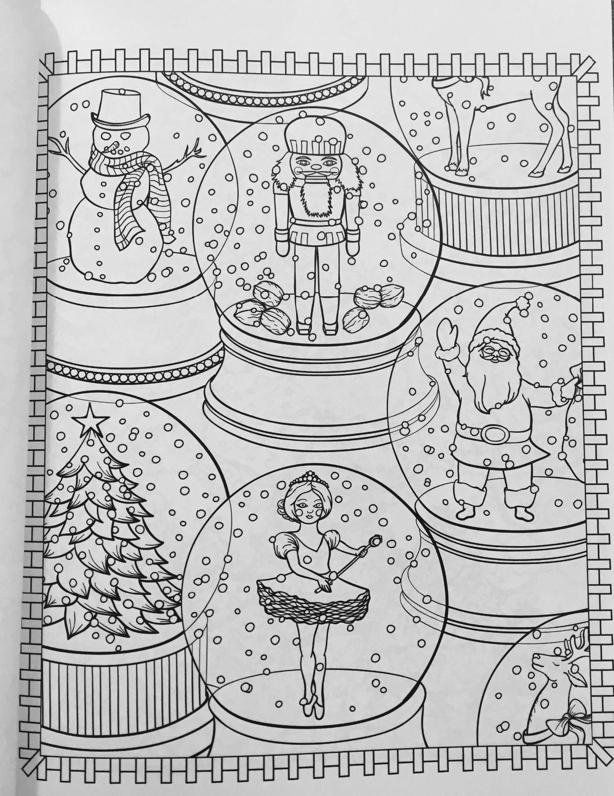 Amazon Creative Haven Christmasscapes Coloring Book