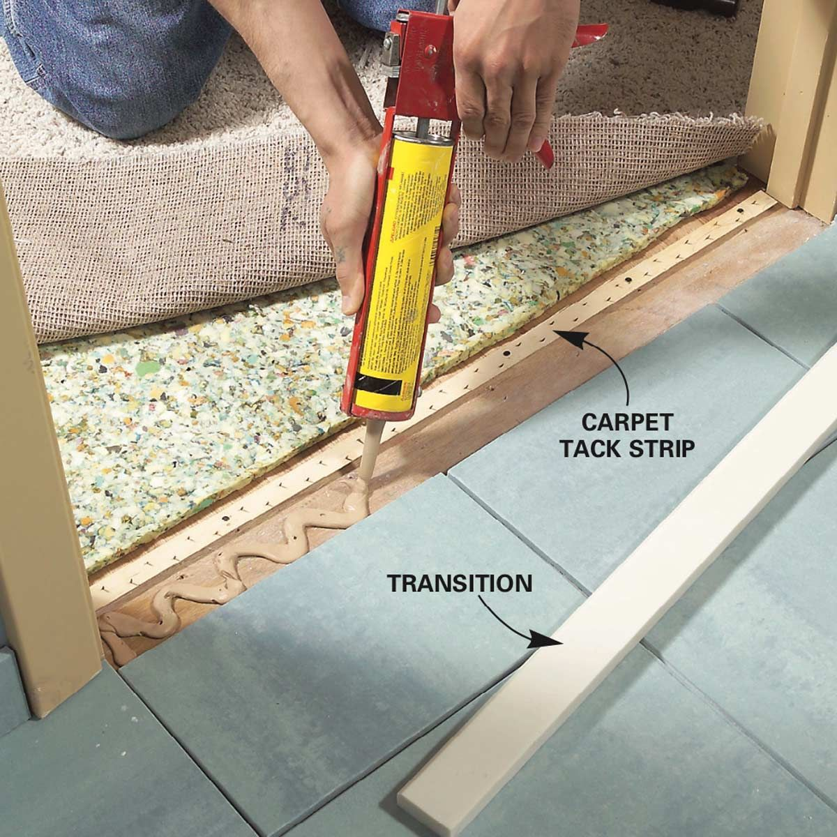 How To Install Ceramic Tile Floor In The Bathroom Installing