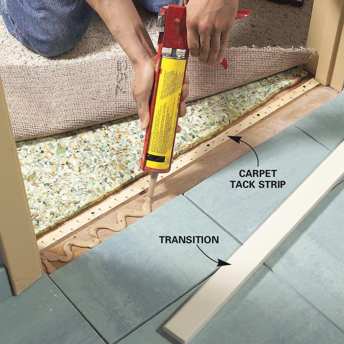 How To Install Ceramic Tile Floor In The Bathroom Installing Tile Floor Ceramic Floor Tiles Tile Floor Diy