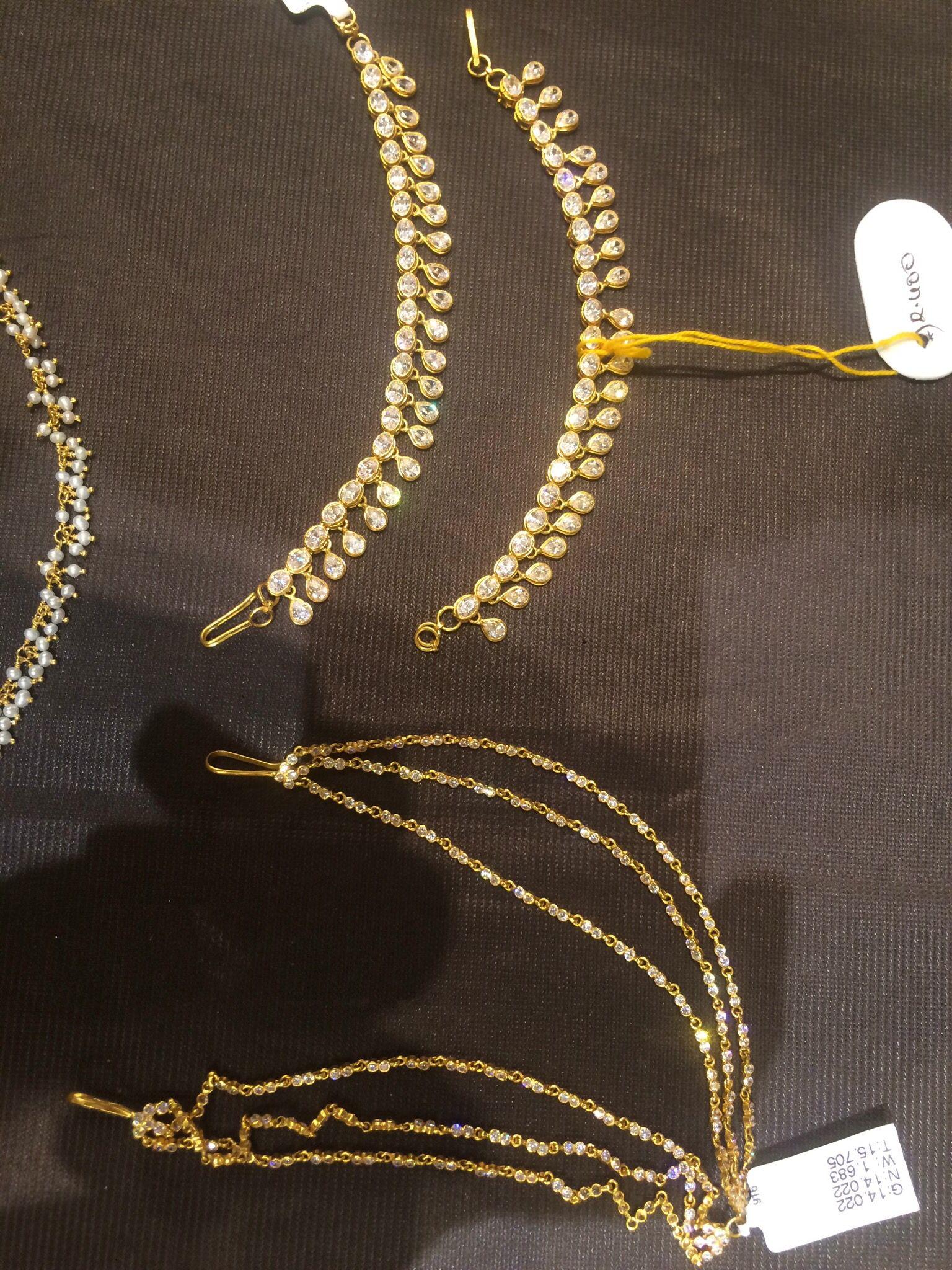 Latest Gold Maang Tikka Designs