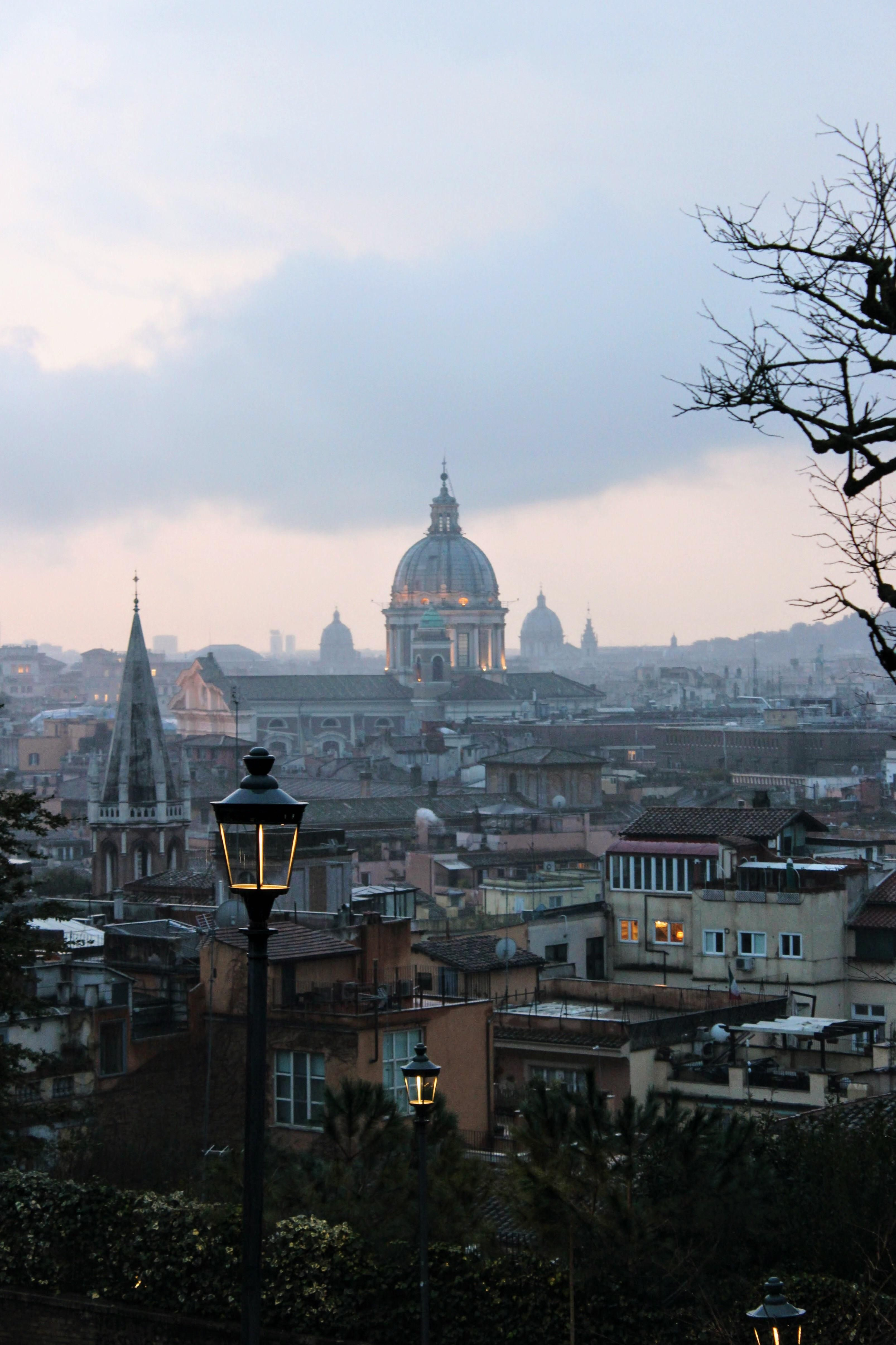 2019 的 Rome From The Terrazza Del Pincio Oc 品奇欧花园 主题