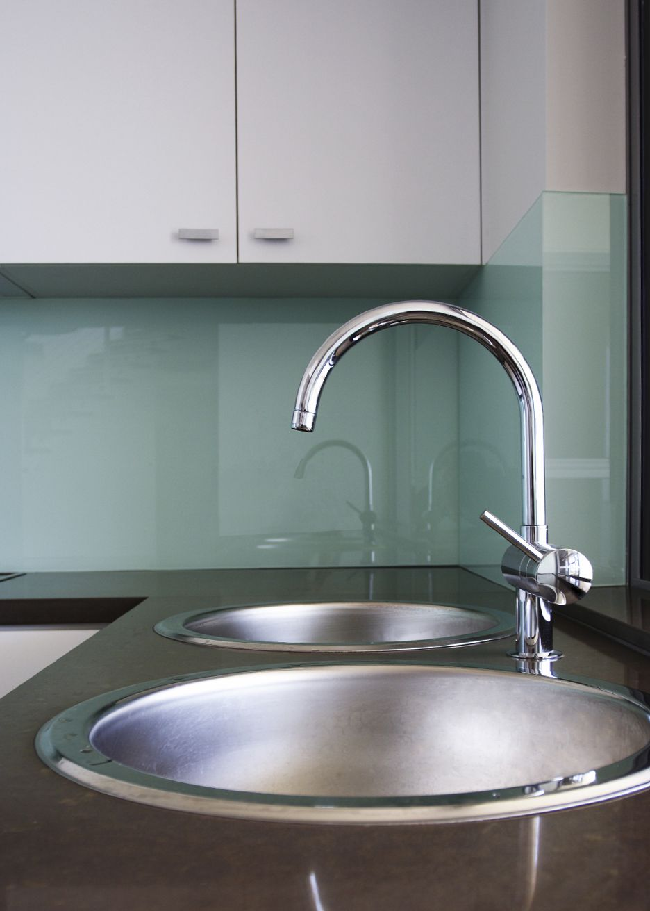 Kitchen Backsplash No Grout glass backsplash no grout. use starfire glass to eliminate green