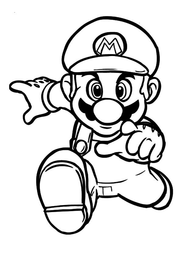 Top 20 Super Mario Coloring Pages To Keep Your Little One Engaged