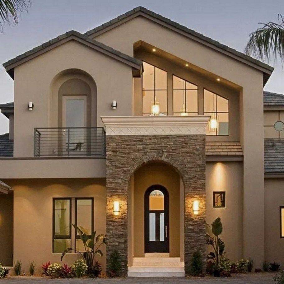 27 Top Exterior Design For A Modern Dream House 19 House Front Design Modern House Exterior House Exterior