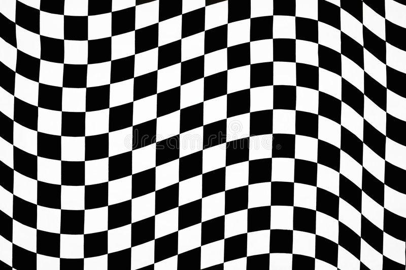 Wavy Checkered Pattern Hi Contrast Wavy Checkerboard Pattern In