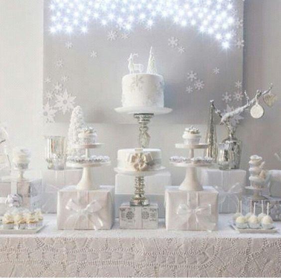 20 Schneeflockendekor-Ideen für Winterhochzeiten!   – Winter Wedding Ideas