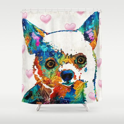Colorful Chihuahua Art by Sharon Cummings