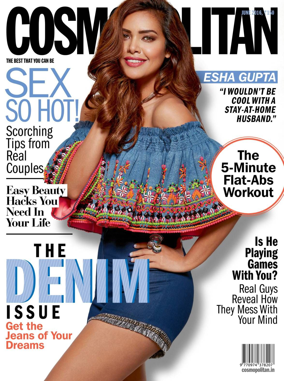 Read Cosmopolitan India - June 2016 digital edition on your iPad, iPhone, Android Devices & web from Magzter Digital Newsstand