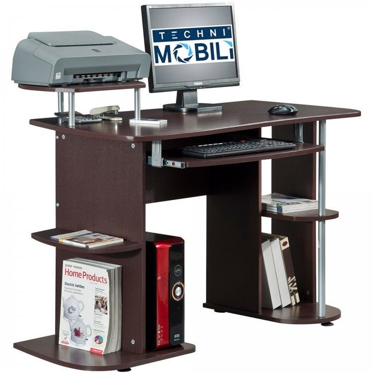Home Office Desk Computer E Saving Small Laptop Printer Storage Table New Contemporary