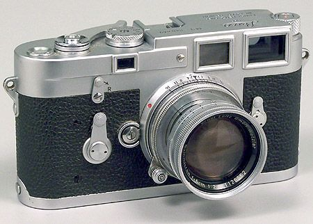 Leica M3. I have always wanted one, but will probably never have one.