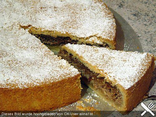 Apfel - Nusstorte aus Großmutters Kochbuch   Rezepte mit ...