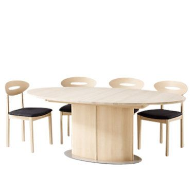 Skovby Dining Table With Patented Extension System From 6 To 10 Seatings