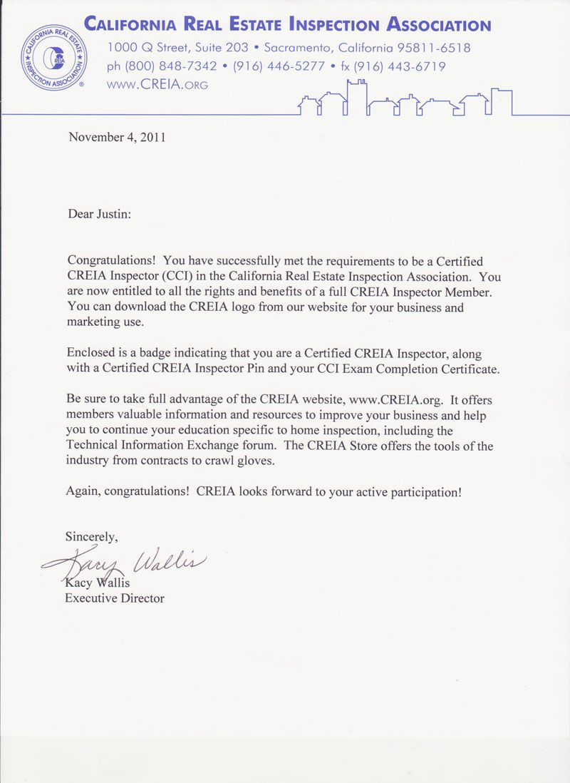 License Certification Letter Residency Document Certificates And