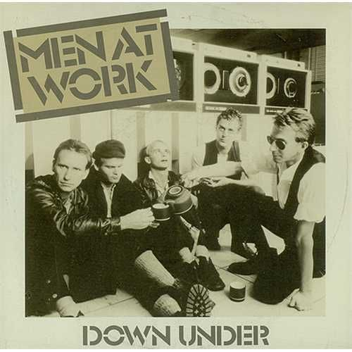 """Australia's answer to the Police, Men at Work lead single """"Who Can It Be Now?,"""" a quirky treatise on paranoia, became an international smash in 1982; it was followed by the even more successful """"Down Under"""" http://en.wikipedia.org/wiki/Men_at_Work"""