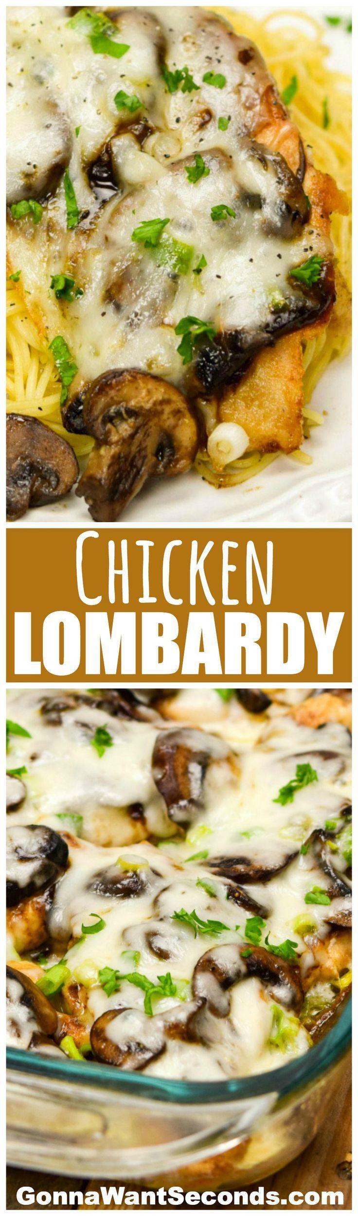 Chicken Lombardy Recipe Budget Recipes Pinterest Hambre