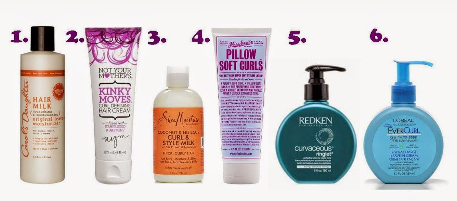 The best styling products for naturally curly hair, the