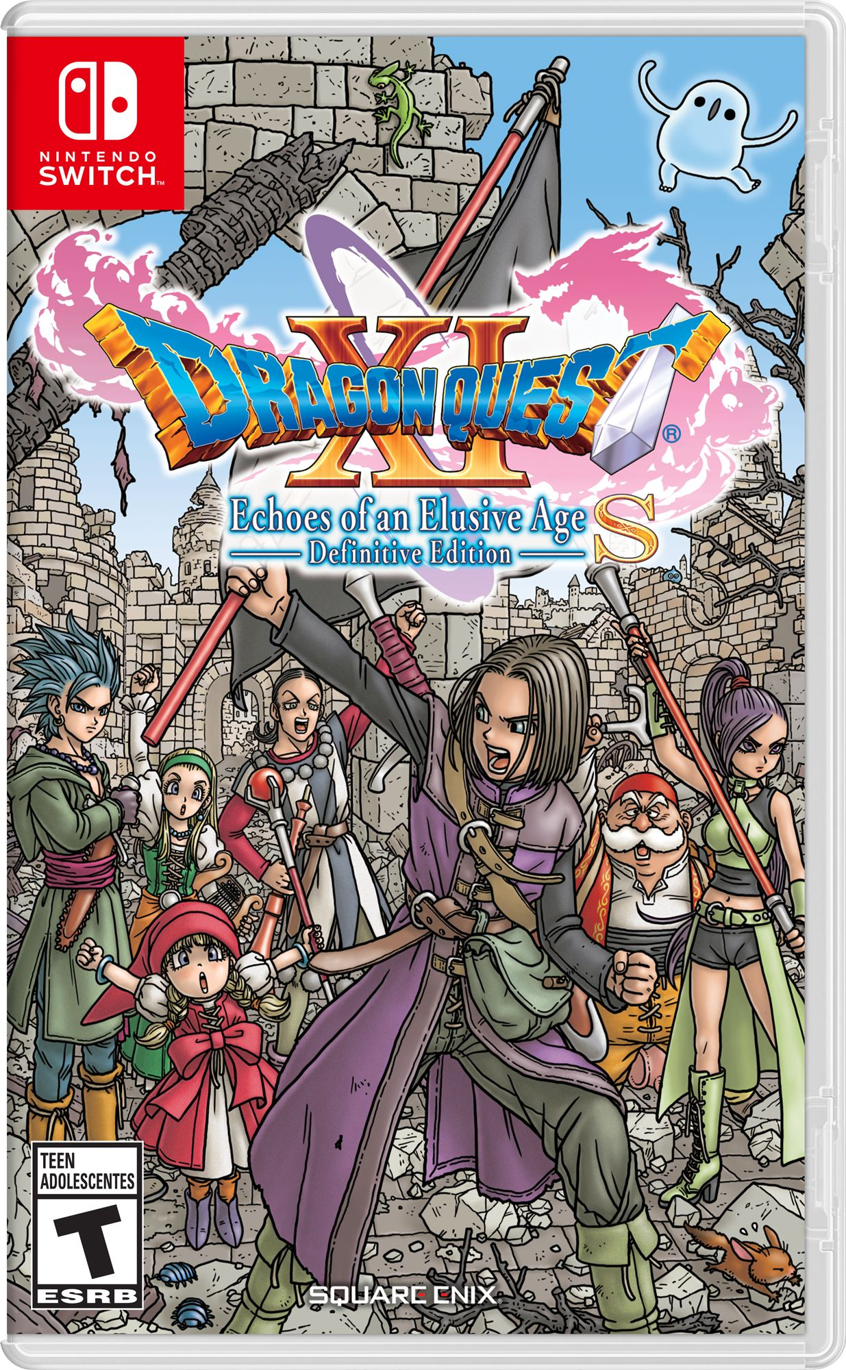 Dragon Quest Xi S Echoes Of An Elusive Age Definitive Edition Nintendo Nintendo Switch Walmart Com In 2021 Dragon Quest Nintendo Switch System Nintendo Switch