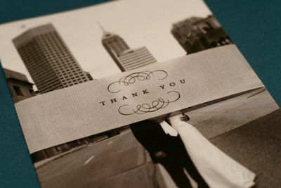 maida vale | modern wedding inspiration: DIY: Photo thank you cards ...