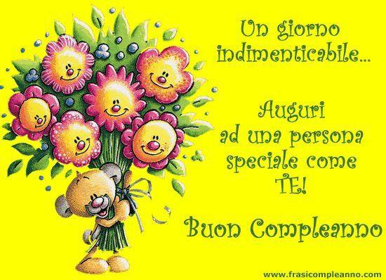 Buon Compleanno A Una Persona Speciale Buon Compleanno Amico Auguri Di Compleanno Buon Compleanno