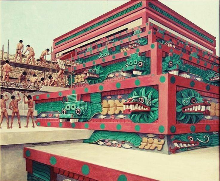 Anunnaki Meso America #aztec