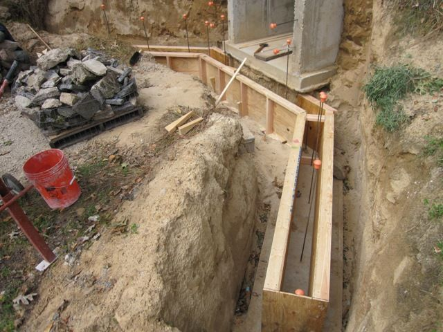 Brainright Root Cellar Retaining Wall Concrete Retaining Walls Retaining Wall Diy Retaining Wall