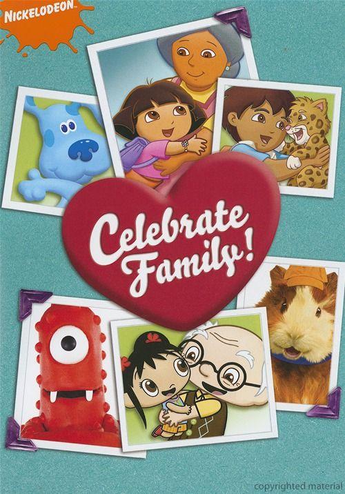 Celebrate Family Dvd 2009 Dvd Empire Family Celebrations Family Theme Nickelodeon