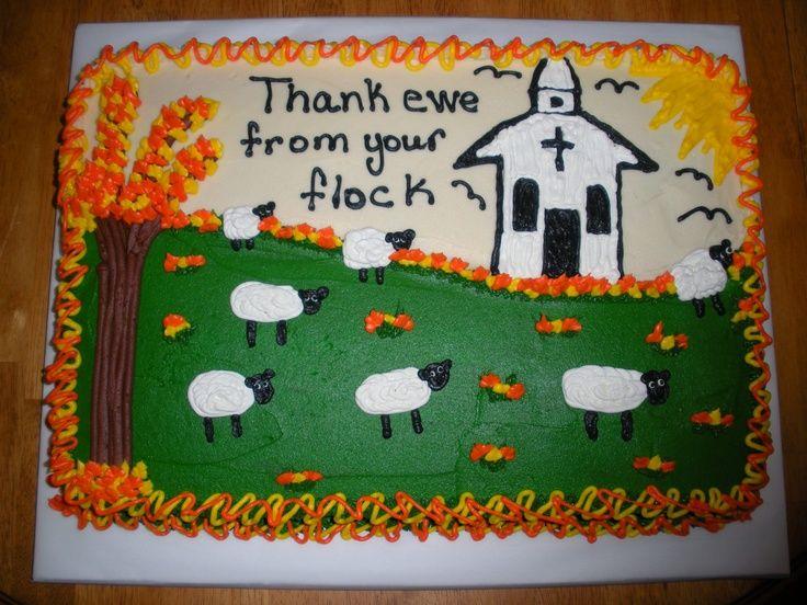 Pastor Appreciation cake Cake decorating Cakes ...