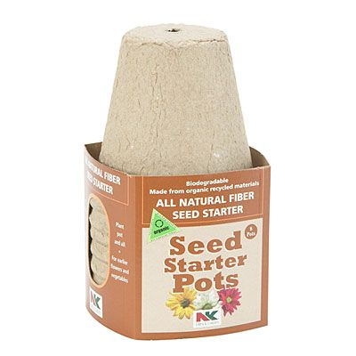 NK® Lawn & Garden Seed Starter Pots, 8-Pack at Big Lots.
