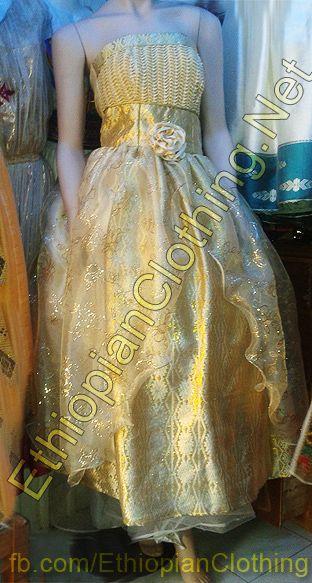 Habesha Wedding Dress Ethiopian Wedding Dress Eritrean Wedding Dress