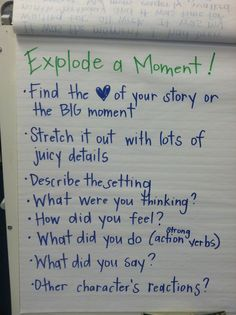 magnify the moment examples