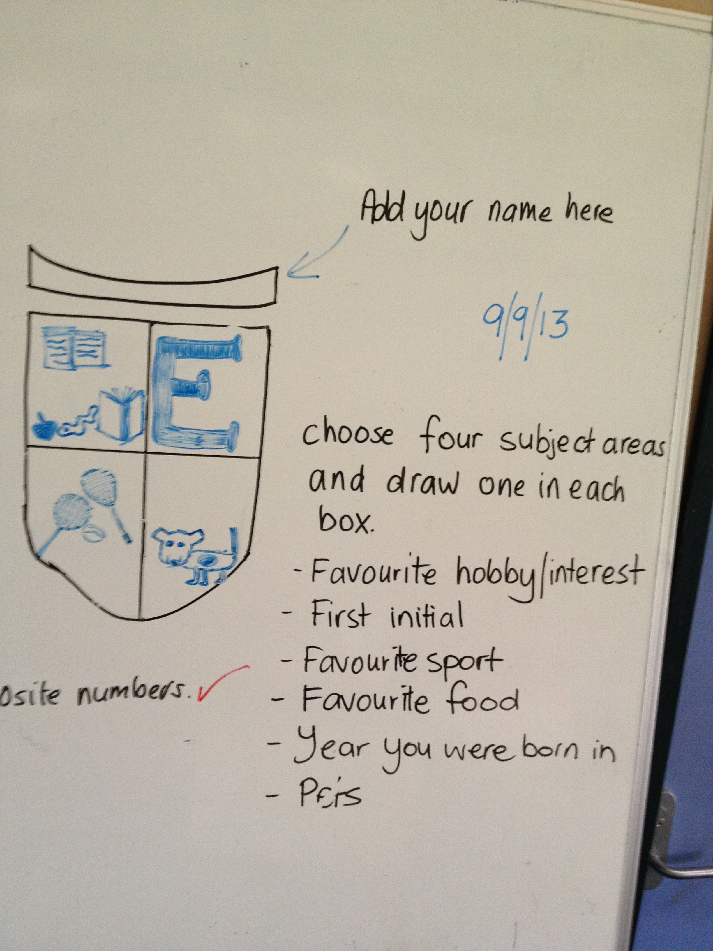 Personal Coat Of Arms For Kids Great Idea As Something