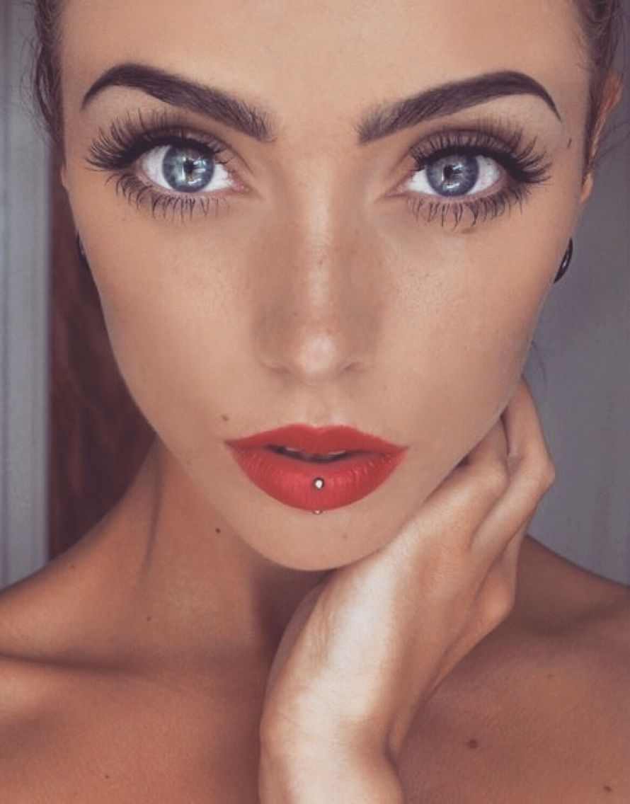 90s nose piercing  Get lost in some eyes  Photos  Brows Makeup and Face