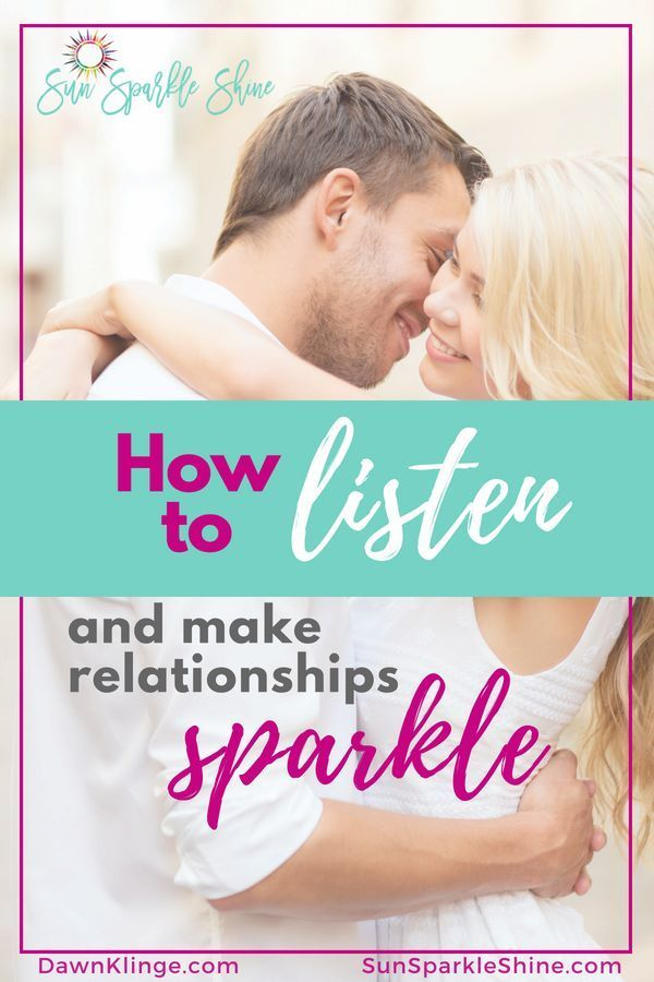 Be a better listener relationships dating