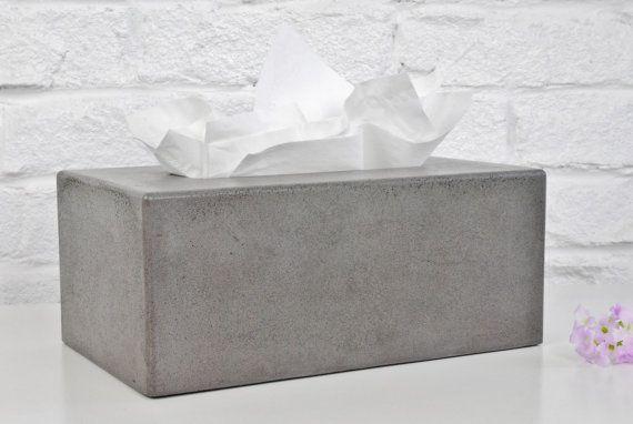 Concrete Tissue Box Cover Kleenex