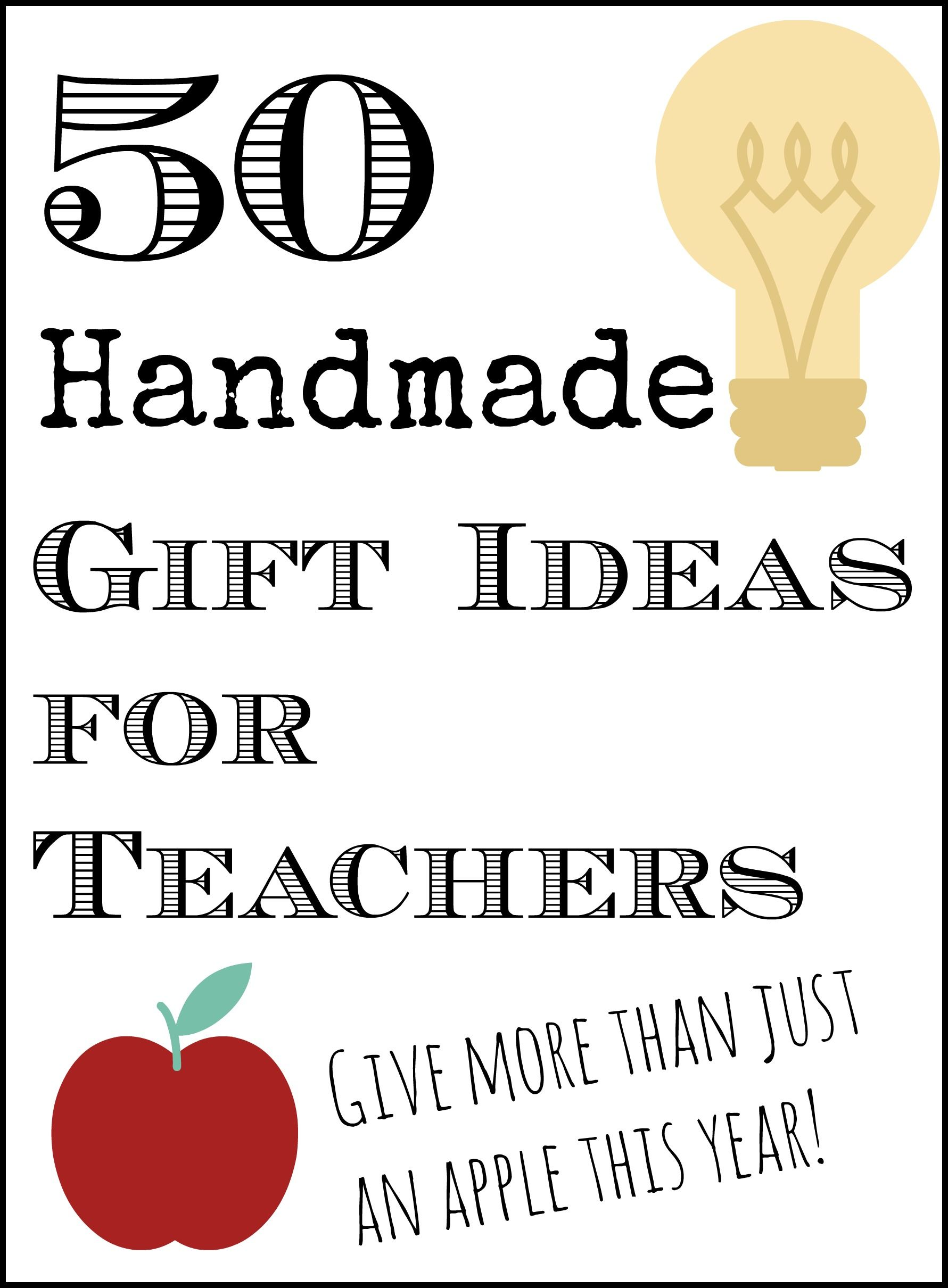 50 handmade gift ideas for teachers ortografa hechos y la nia get 50 handmade gift ideas for teachers here with pictures so you can click to solutioingenieria Choice Image